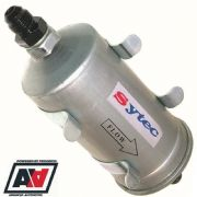 Sytec Motorsport Hi Flow Fuel Filter & Clips With AN8 & AN8 Tails - SSFMC004 ADV